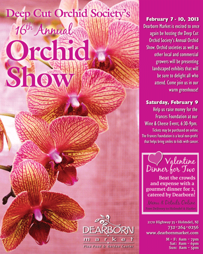 Custom Poster - Orchid Show