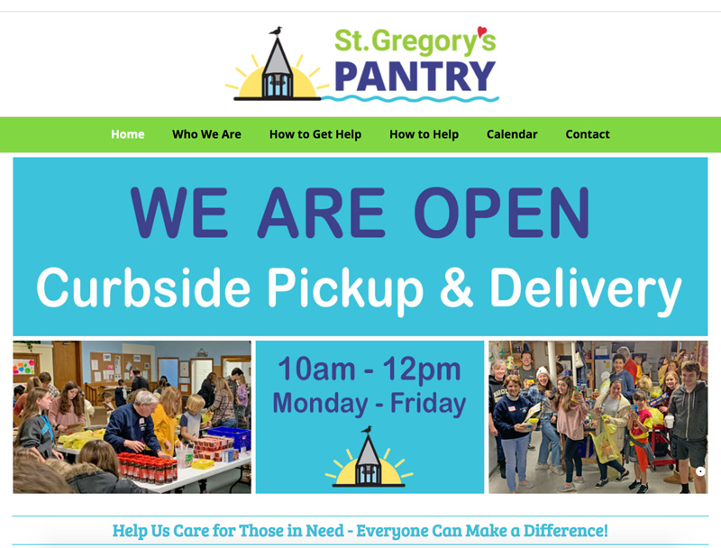 St. Gregory's Pantry Website
